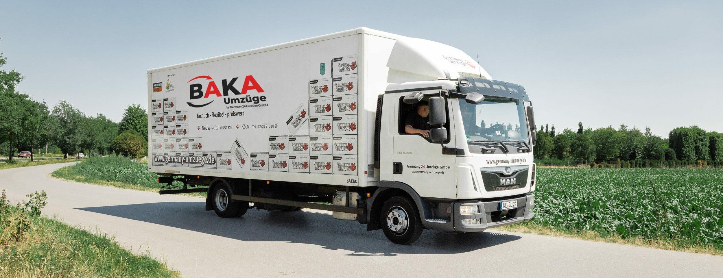 Umzüge in Köln mit dem Baka Team